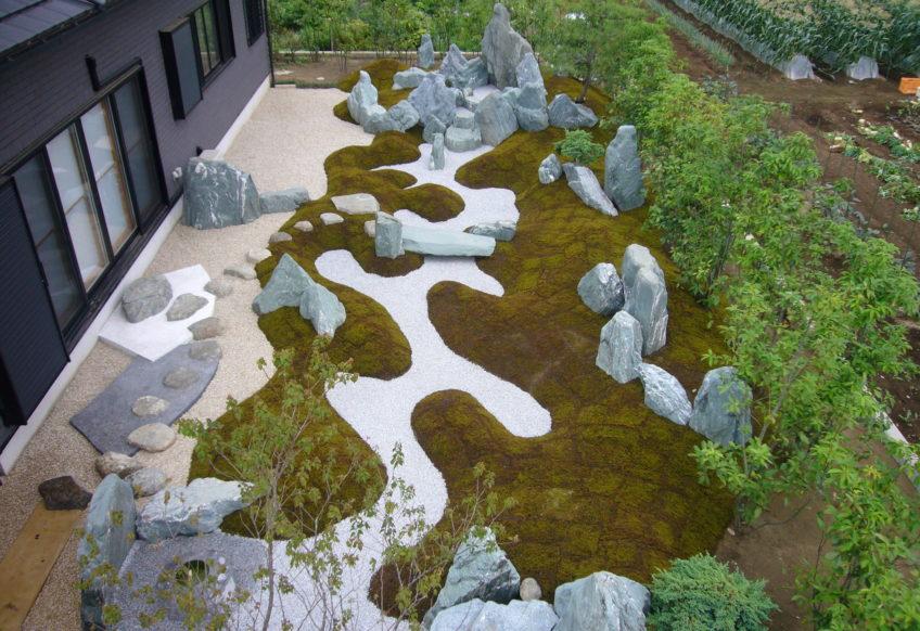 S邸 枯山水庭園
